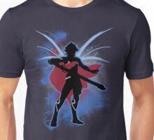 Super Smash Bros. Blue Male Corrin Silhouette Unisex T-Shirt