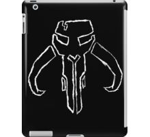 With no honor, one might as well be dead iPad Case/Skin