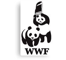 panda wwf Canvas Print