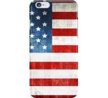 Grunge American flag iPhone Case/Skin