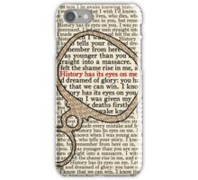 History Has its Eyes on Me iPhone Case/Skin