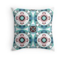 Creative ethnic seamless pattern. Throw Pillow