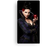 Lana Parrilla- Apple Canvas Print
