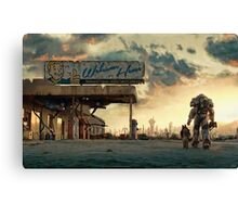 The Wanderer - Fallout 4 Canvas Print