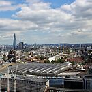 Waterloo Station and The Shard by Astrid Ewing Photography