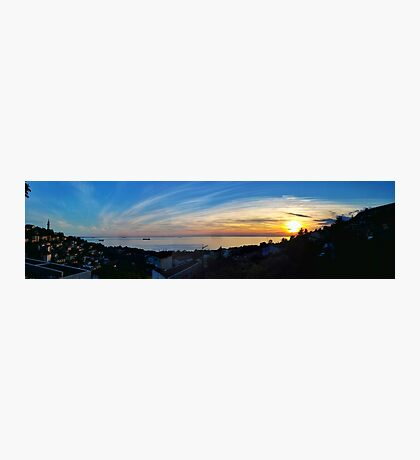 Panoramic View Photographic Print