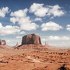 Monument Valley Panorama by Graham Gilmore