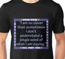 I Am So Clever - Wilde Unisex T-Shirt