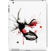 Clown Bank Robber Splatter iPad Case/Skin