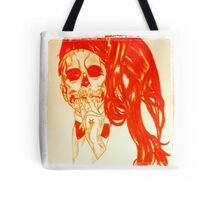 Silent Scream Tote Bag