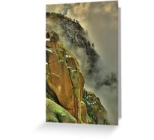 Mount Buffalo Gorge, Victoria Greeting Card