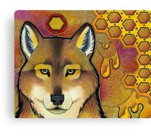 Honey Wolf Canvas Print
