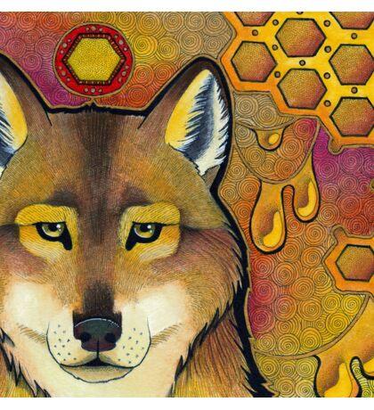 Honey Wolf Sticker