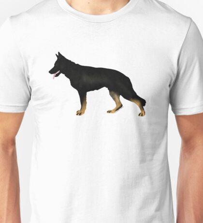German Shepherd: Bicolor Unisex T-Shirt