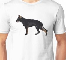 German Shepherd: Black Sable Unisex T-Shirt