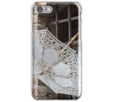 lacy umbrella iPhone Case/Skin
