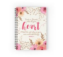 PROVERBS 3:5 Spiral Notebook
