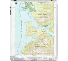 USGS TOPO Map Alaska AK Sitka B-2 359101 2000 63360 iPad Case/Skin