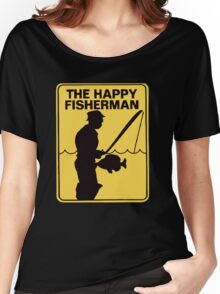 Funny fishing Women's Relaxed Fit T-Shirt