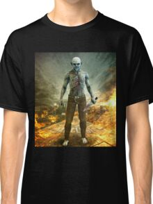Crazy Scary Monster Apocalyptic Scene Classic T-Shirt