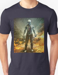 Crazy Scary Monster Apocalyptic Scene Unisex T-Shirt