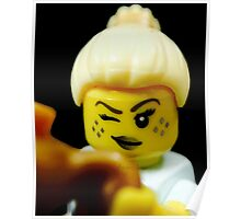 Lego Genie Girl! Poster