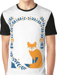Little Folk Fox Graphic T-Shirt