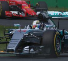 Lewis Hamilton & Sebastian Vettel Sticker