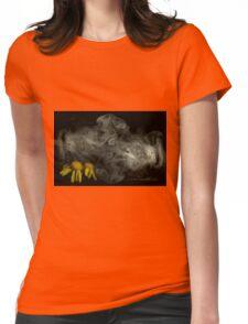 Optimitistic Dense Daisies © Vicki Ferrari Womens Fitted T-Shirt