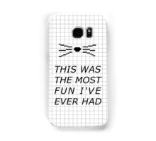 PINOF 1 quote Samsung Galaxy Case/Skin