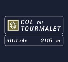 Col du Tourmalet, Road Sign, France One Piece - Long Sleeve