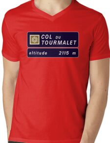 Col du Tourmalet, Road Sign, France T-Shirt