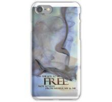 The Awareness STICKER © Vicki Ferrari iPhone Case/Skin