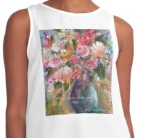 Where Flowers Bloom Contrast Tank