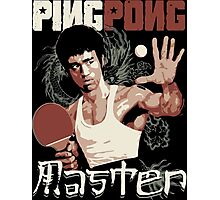 THE PING PONG MASTER Photographic Print