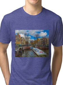 The Bridges of Amsterdam Tri-blend T-Shirt