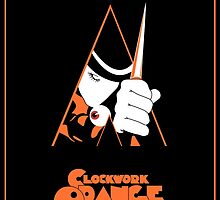 A Clockwork Orange Vintage Movie Poster by FinlayMcNevin
