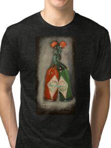hot & hotter Tri-blend T-Shirt