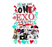 EXO We Are One! White version by haneulhome
