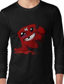 Happu Super Meat Boy Long Sleeve T-Shirt