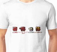 Super Meat Boy Crew Unisex T-Shirt