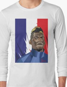 paul pogba Long Sleeve T-Shirt