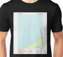 USGS TOPO Map Alaska AK Tyonek A-2 SE 353841 1986 25000 Unisex T-Shirt