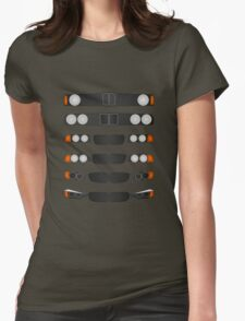 BMW 3 series evolution Womens Fitted T-Shirt