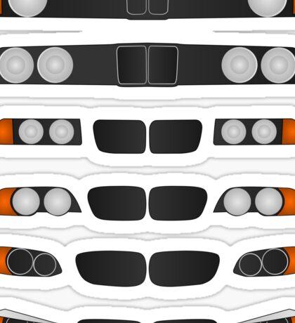 BMW 3 series evolution Sticker