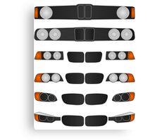 BMW 3 series evolution Canvas Print