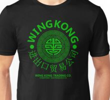 WING KONG - BIG TROUBLE IN LITTLE CHINA JACK BURTON (GREEN) Unisex T-Shirt