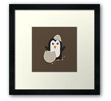 Penguin baby   Framed Print