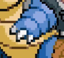 Blue and Blastoise Sticker