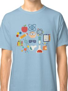 The Scientist - Modern Retro  Classic T-Shirt